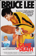 "Movie Posters:Action, Game of Death (Golden Harvest, R-1980s). Rolled, Very Fine+. Hong Kong One Sheet (25.75"" X 40""). Action.. ..."
