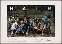 """Hair (United Artists, 1979). Rolled, Very Fine+. Autographed and Numbered Limited Edition Print (17"""" X 24""""). M..."""