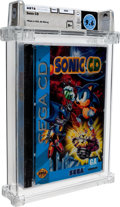 Video Games:Sega, Sonic CD Wata 9.6 B+ Sealed Sega CD Sega 1993 USA....