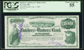 Saint Louis, MO- Butchers' and Drovers' Bank $100 Aug. 1, 1880 Certificate of Deposit PCGS Choice About New 55
