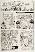 Original Comic Art:Panel Pages, Curt Swan and Murphy Anderson Action Comics #422 Story Page 14 Original Art (DC, 1973)....