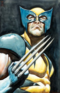 Original Comic Art:Paintings, Mark Texeira - Wolverine Painting Original Art (2001)....