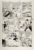 Original Comic Art:Panel Pages, Steve Ditko and Sal Trapani Forbidden Worlds #137 Story Page 4 Original Art (American Comics Group, 1966)....