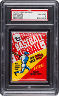 Baseball Cards:Unopened Packs/Display Boxes, 1970 Topps Baseball (4th Series) Unopened Wax Pack PSA NM-MT 8. ...