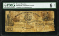 Obsoletes By State:Texas, Houston, TX- Government of Texas $20 circa 1830s Cr. H19 PMG Good 6 Net.. ...
