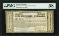 Houston, TX- Consolidated Fund of Texas $100 Sep. 1, 1837 Cr. CF7A Medlar 78 PMG Choice About Unc 58