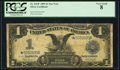 Large Size:Silver Certificates, Fr. 232* $1 1899 Silver Certificate PCGS Very Good 8.. ...