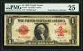 Large Size:Legal Tender Notes, Fr. 40* $1 1923 Legal Tender PMG Very Fine 25.. ...
