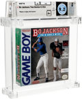 Video Games:Nintendo, Bo Jackson: Two Games in One Wata 9.2 A+ Sealed GB THQ 1991 USA....