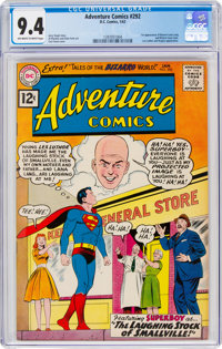 Adventure Comics #292 (DC, 1962) CGC NM 9.4 Off-white to white pages