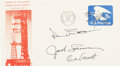 Explorers:Space Exploration, Skylab II (SL-3) Crew-Signed Launch Cover. ...
