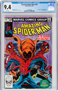 The Amazing Spider-Man #238 (Marvel, 1983) CGC NM 9.4 White pages