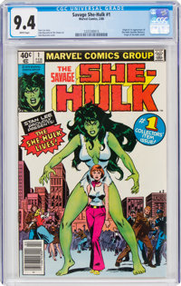 The Savage She-Hulk #1 (Marvel, 1980) CGC NM 9.4 White pages