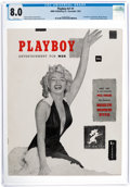 Magazines:Miscellaneous, Playboy #1 (HMH Publishing, 1953) CGC VF 8.0 White pages....