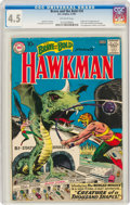 Silver Age (1956-1969):Superhero, The Brave and the Bold #34 Hawkman (DC, 1961) CGC VG+ 4.5 Off-white pages....