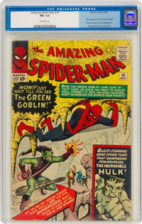 The Amazing Spider-Man #14 (Marvel, 1964) CGC FN- 5.5 Off-white pages