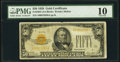 Fr. 2404 $50 1928 Gold Certificate. PMG Very Good 10