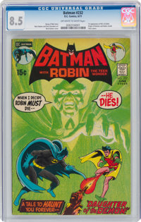 Batman #232 (DC, 1971) CGC VF+ 8.5 Off-white to white pages