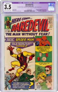 Daredevil #1 (Marvel, 1964) CGC Apparent VG- 3.5 Slight (B-1) Cream to off-white pages