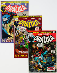 Tomb of Dracula Group of 69 (Marvel, 1972-2000) Condition: Average FN.... (Total: 69 Comic Books)