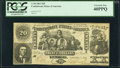 Confederate Notes:1861 Issues, T20 $20 1861 PF-5 Cr. 141 PCGS Extremely Fine 40PPQ.. ...