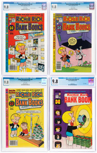Richie Rich Bank Books CGC-Graded File Copies Group of 4 (Harvey, 1974-81) CGC NM/MT 9.8.... (Total: 4)