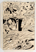 Original Comic Art:Panel Pages, Don Heck and Bob Smith Justice League of America #201 Story Page 22 Original Art (DC, 1982)....