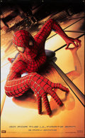 """Movie Posters:Action, Spider-Man (Columbia, 2002). Rolled, Very Fine/Near Mint. Vinyl Banner (59.5"""" X 97"""") SS Advance. Action.. ..."""