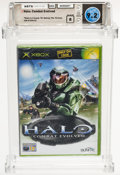 Video Games:Xbox, Halo: Combat Evolved [PAL Version, Standard Release] Wata 9.2 B Sealed Xbox Microsoft 2001 USA....