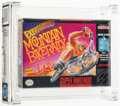 Video Games:Nintendo, Mountain Bike Rally Wata 9.4 A Sealed SNES Life Fitness 1994 USA....