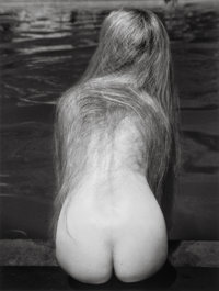 Ruth Bernhard (American, 1905-2006) At the Pool, 1951 Gelatin silver, printed later 13-1/4 x 10-3