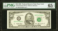Small Size:Federal Reserve Notes, Fr. 2125-B $50 1993 Federal Reserve Note. PMG Gem Uncirculated 65 EPQ;. Fr. 2132-B $50 2013 Federal Reserve Note. PMG Supe... (Total: 2 notes)