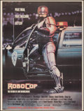 """Movie Posters:Action, RoboCop (Orion, 1987). Rolled, Very Fine-. Subway (45"""" X 60"""") SS Advance. Mike Bryan Artwork. Action.. ..."""