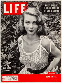 Life Magazine from June 23, 1952 (Time Life, 1952) Condition: VG