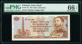 Ethiopia State Bank of Ethiopia 20 Dollars ND (1961) Pick 21a PMG Gem Uncirculated 66 EPQ
