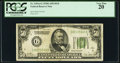 Small Size:Federal Reserve Notes, Fr. 2101-G $50 1928A Dark Green Seal Federal Reserve Note. PCGS Very Fine 20.. ...