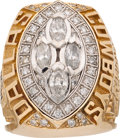 Football Collectibles:Others, 1993 Dallas Cowboys Super Bowl XXVIII Championship Ring Presented to Wide Receiver Tim Daniel....