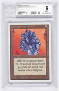Memorabilia:Trading Cards, Magic: The Gathering Unlimited Edition Gauntlet of Might BGS 9.0 (Wizards of the Coast, 1993)....