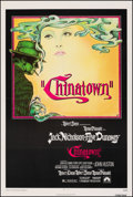 """Movie Posters:Mystery, Chinatown (Paramount, 1974). Very Fine- on Linen. One Sheet (27"""" X 41.5""""). Jim Pearsall Artwork. Mystery.. ..."""
