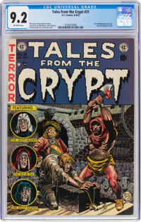 Tales from the Crypt #31 (EC, 1952) CGC NM- 9.2 Off-white pages