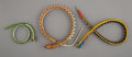 American Indian Art:Beadwork and Quillwork, Three Ethnographic Beaded Snakes... (Total: 3 )