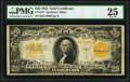 Large Size:Gold Certificates, Fr. 1187 $20 1922 Gold Certificate PMG Very Fine 25.