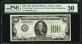 Small Size:Federal Reserve Notes, Fr. 2152-H* $100 1934 Dark Green Seal Federal Reserve Note. PMG Very Fine 30.. ...