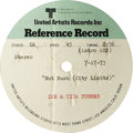 """Music Memorabilia:Recordings, Various R&B Artists Acetate Group of 6 (1968-87). Included areMichael Jackson's """"Earth Song"""" (12"""" one-sided, Whitfield Stre..."""