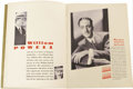 "Movie Posters:Miscellaneous, Warner Brothers Exhibitor Book (Warner Brothers, 1931-1932).Exhibitor's Book (9"" X 12""). This exhibitor's book is more conc..."