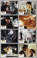 "Movie Posters:Adventure, Raiders of the Lost Ark (Paramount, 1981). Lobby Card Set of 8 (11""X 14""). Action Adventure. Starring Harrison Ford, Karen ... (Total:8 Items)"