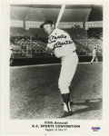 Autographs:Photos, Mickey Mantle Signed Photograph. The Commerce Comet's desirablesignature has been applied by the Hall of Famer here with t...