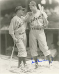 Autographs:Photos, Hank Greenberg Signed Photograph. Charming image of a young HankGreenberg makes an exceptional canvas for his 10/10 sharpi...