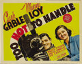"Movie Posters:Comedy, Too Hot to Handle (MGM, 1938). Title Lobby Card and Lobby Cards (5)(11"" X 14""). This lot consists of the title card and fiv... (Total:6 Item)"