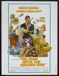 "Movie Posters:James Bond, The Man With the Golden Gun (United Artists, 1974). Poster (30"" X40""). James Bond Adventure. Starring Roger Moore, Christop..."